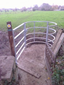 New kissing gate 2015